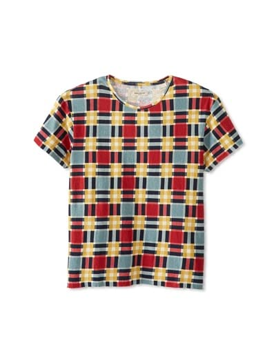 Levi's Made & Crafted Men's Bay Checked Tee
