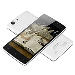 CUBOT X12 5.0'' IPS Android 5.1 Unlocked LTE 4G Smartphone Quad Core 1GB/8GB Dual SIM Cellphone Phablet (White)