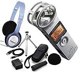 Zoom H1 2.0 Silber Silver Recorder MP3 Wave + APH-1 Zubehörset + Kopfhörer PH-60