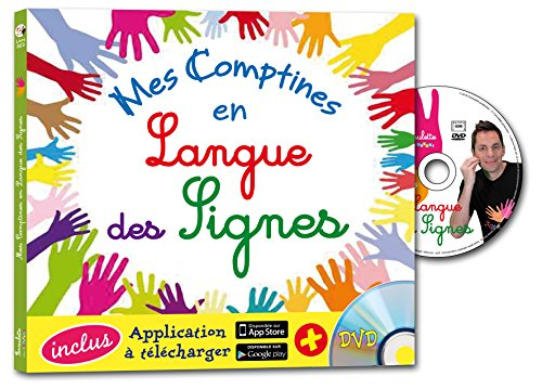 Mes comptines en langue des signes (1DVD)