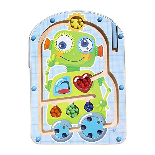 Haba 301533 Robot Ron Magnetic Game