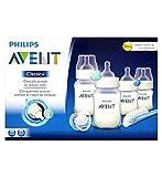 Philips Avent�Cl�sico + Set De Iniciaci�n Reci�n Nacido Anti-C�lico (Paquete de 2)