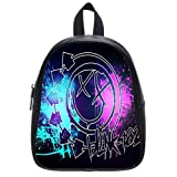 Blink 182 Custom Kid's School Bag, Small Size PU Leather