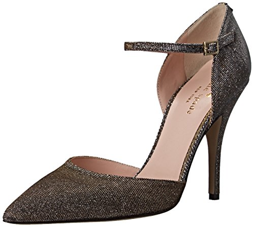 kate spade new york Women's Lanora Dress Pump, Bronze, 6 M US