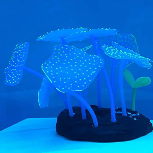 Gresorth luminous effect fake coral tree for fish tank for Fake fish tank with moving fish