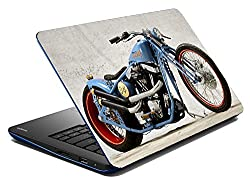 meSleep Crossover Bike Laptop Skin