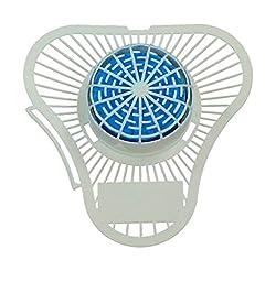 ScentBon Urinal Screen Deodorizer Citrus Fragrance, Non Para Odor Block, Pack of 12 (12, Blue - Citrus Scent)