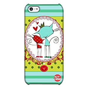Designer iPhone 5C Case Cover Nutcase -Kitty Sisters
