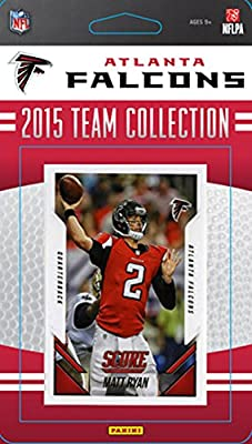 Atlanta Falcons 2015 Score Factory Sealed Complete Mint 14 Card Team Set Including Matt Ryan, Julio Jones, Rookie Cards Plus