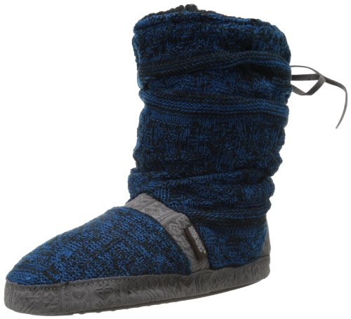 Muk Luks Womens Jenna North American Slipper Bootie