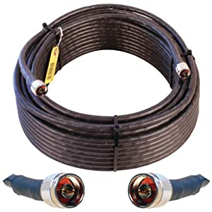 Wilson Electronics 100-Foot WILSON400 Ultra Low Loss Coax Cable with N Male Connectors