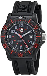 Luminox Men's 8815 Resin Analog Black Dial Watch