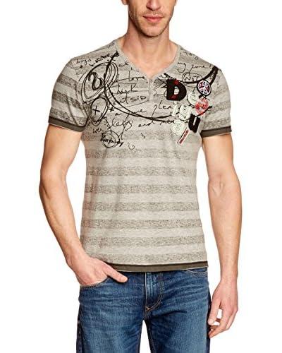 Desigual Men's Madureir Button T-Shirt