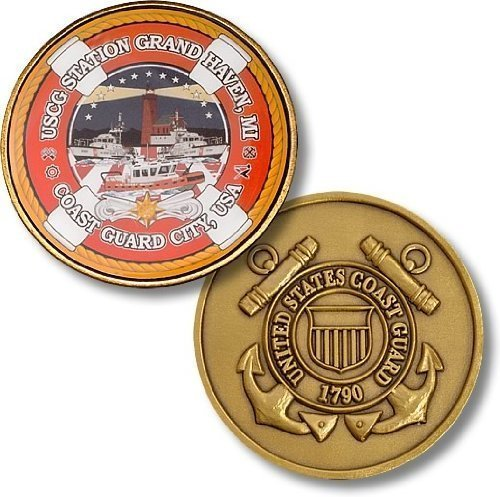 USCG Station Grand Haven Challenge Coin
