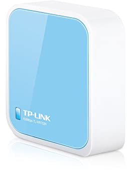 TP-Link TL-WR702N - Router inalámbrico, sobremesa, 802.11b/g/n