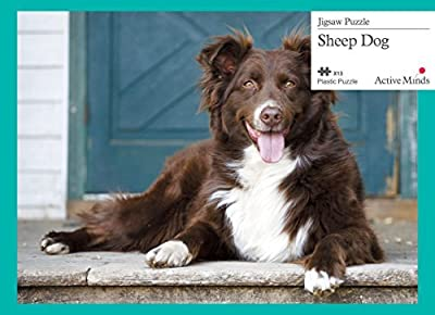 Jigsaw puzzles designed for people with dementia - Sheep Dog (mid-late stage)