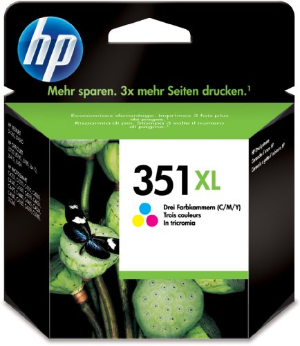 HP 351XL - Print cartridge - 1 x colour (cyan, magenta, yellow) - 580 pages