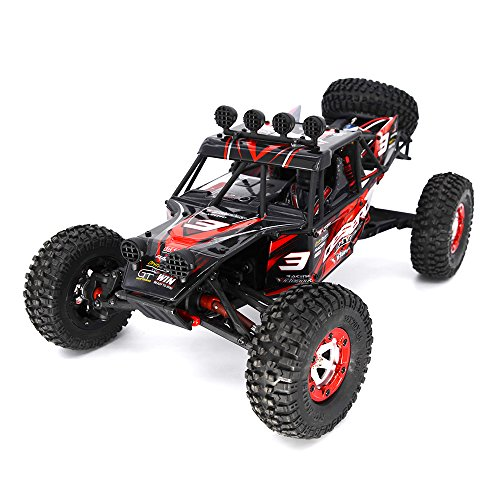 KELIWOW Eagle 3 Off-road RC Cars Electric Fast 25 MPH, 1/12 Scale 2.4GHz RC Truck 4WD RTR (Red) (Gas Rc Cars Hobby compare prices)