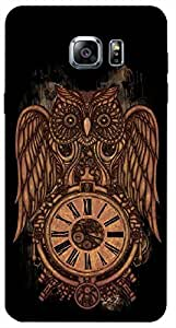 Timpax Protective Hard Back Case Cover Full access to all features. ports of the device including microphone, speaker, camera and all buttons. Printed Design : A owl and a clock.Specifically Design For : Samsung Galaxy Note 5 ( N920G )