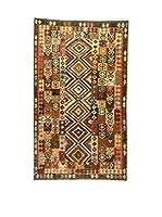 L'Eden del Tappeto Alfombra Kilim P Marrón / Multicolor 261  x  136 cm