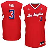 NBA Los Angeles Clippers Chris Paul Replica Basketball Jersey Red, Small