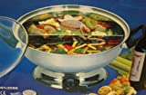 Shabu Shabu Hot Pot, Electric Mongolian Hot Pot W/DIVIDER