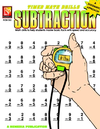 REM502 - TIMED MATH FACTS SUBTRACTION