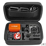 GoPro Case by CamKix® for GoPro Hero 1/2/3/3+ and Accessories - Ideal for Travel or Home Storage - Complete Protection for Your GoPro Camera - CamKix® Microfiber Cleaning Cloth Included
