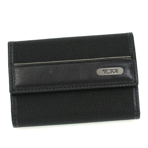 TUMI(トゥミ) トゥミ 96-1510/01 キーケース BK キーケース H7*W10*D3 BLACK(96-1510/01)