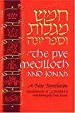 img - for Five Megilloth and Jonah: A New Translation (English and Hebrew Edition) book / textbook / text book