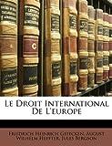 Le Droit International de LEurope (German Edition)