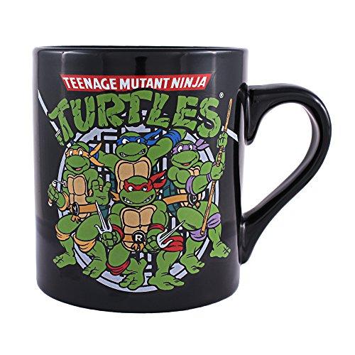Silver Buffalo NT1732 Teenage Mutant Ninja Turtles Coffee Mug, 14-Ounces (Ninja Turtle Coffee Mug compare prices)