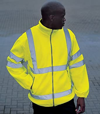 Buy High Visibility Fleece Jackets Mens With Cheap Dicount Price