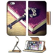 buy Msd Apple Iphone 6 Plus Iphone 6S Plus Flip Pu Leather Wallet Case Vintage Key On Book Image 24376866