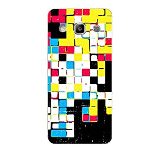 Vibhar printed case back cover for Samsung On7 SmallColors