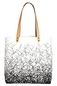 Nell and Mary Nest Organic USA-made Tote Bag (Cream)