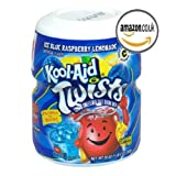 #9: KOOL-AID ICE BLUE RASPBERRY DRINK MIX (MAKES 8 QUARTS) 567g (SINGLE TUB) AMERICAN IMPORTED