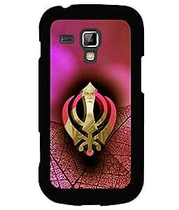 printtech Sikh Khalsa Waheguru Back Case Cover for Samsung Galaxy S Duos 2 S7582