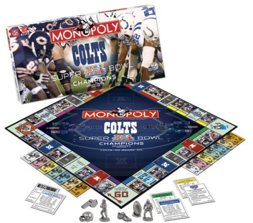 Buy Super Bowl XLI Colts Monopoly