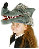Big Bad Wolf Hat (also is a puppet) for Kids OR Adults