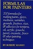 Formulas for Painters