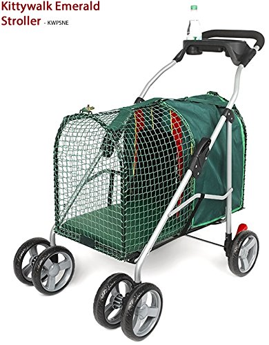 Kittywalk Pet Strollers And Accessories (Emerald Stroller)