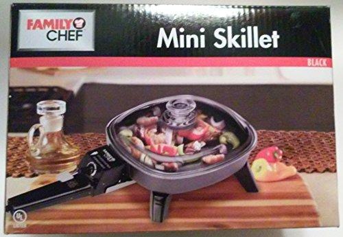 Family Chef 6″ Mini Electric Skillet