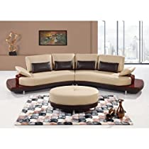 Amazing Shopping Global Furniture Ua131 Leather 2 Piece Sectional Alphanode Cool Chair Designs And Ideas Alphanodeonline