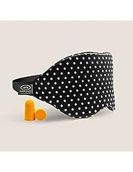 WeBravery 3D Memory Foam Sleep Mask ,Super- Comfortable Sleep Eye Mask Blindfold (Wave Point 1-Pack)