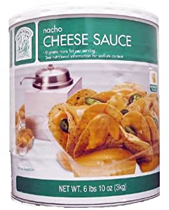 Bakers Chefs Nacho Cheese Sauce - 662 Lbs from Bakers & Chefs