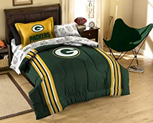 NFL Twin Size Bedding Set with Applique Comforter