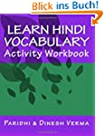 Learn Hindi Vocabulary Activity Workbook