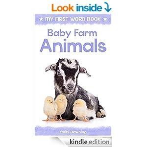 Baby Farm Animals: My First Word Book for Children (Best ...