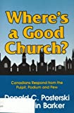 img - for Where's a Good Church book / textbook / text book